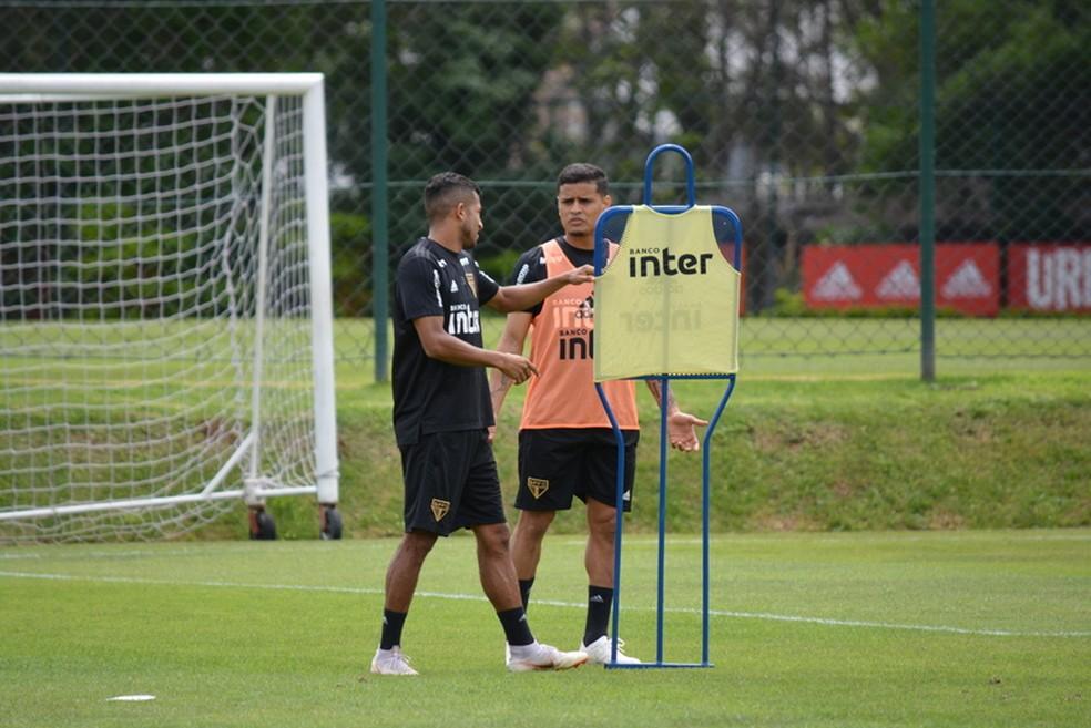 Everton está de volta ao São Paulo — Foto: Renata Lutfi/Saopaulofc.net