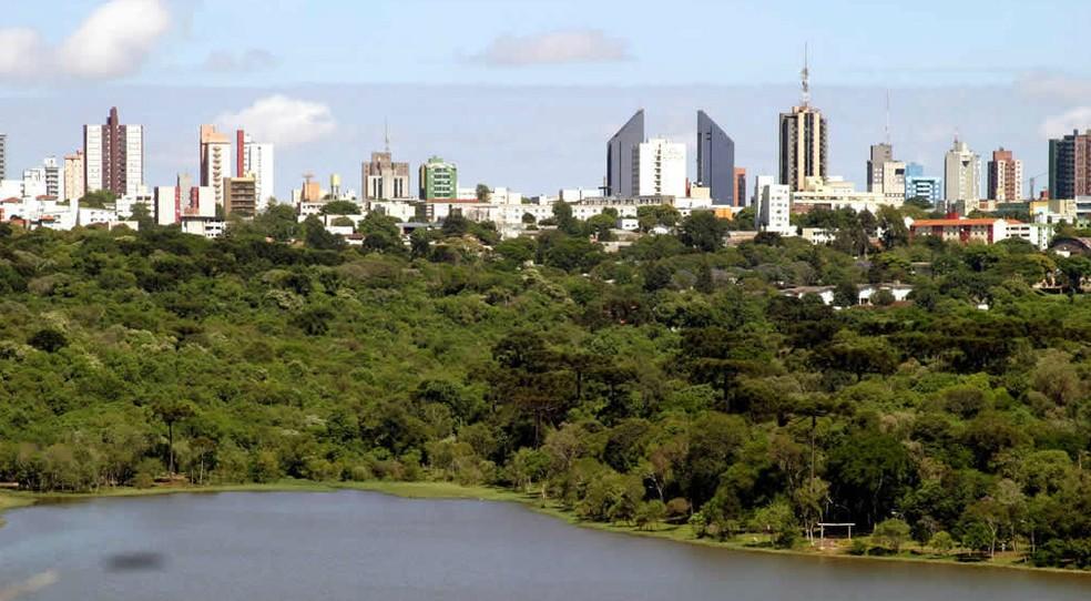 Atividades não essenciais não funcionaram nesta quarta-feira (1º), em Cascavel — Foto: Prefeitura de Cascavel / Divulgação