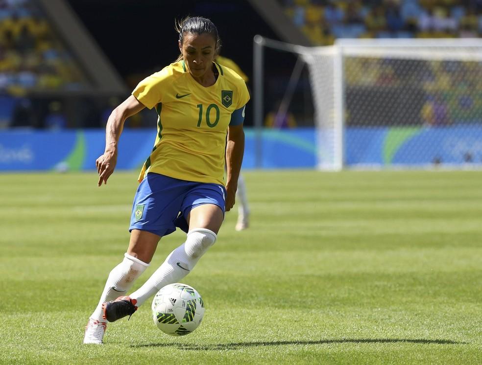 Marta é uma das três finalistas (Foto: Reuters)