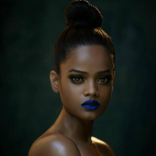 Renee Kujur, a modelo indiana de 23 anos que é a cara da Rihanna (Foto: Reprodução/Instagram)