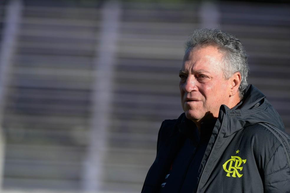 Abel Braga Flamengo — Foto: Alexandre Vidal / Flamengo