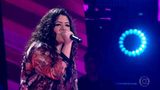 Confira como foi a estreia de Giulia Sant'Ana no 'The Voice Brasil'