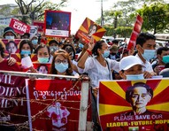 Mianmar: trabalhadoras da moda lideram protestos por democracia