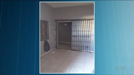 Cadeia Pública de Santo Antônio da Platina tem fuga seguida de rebelião, diz PM