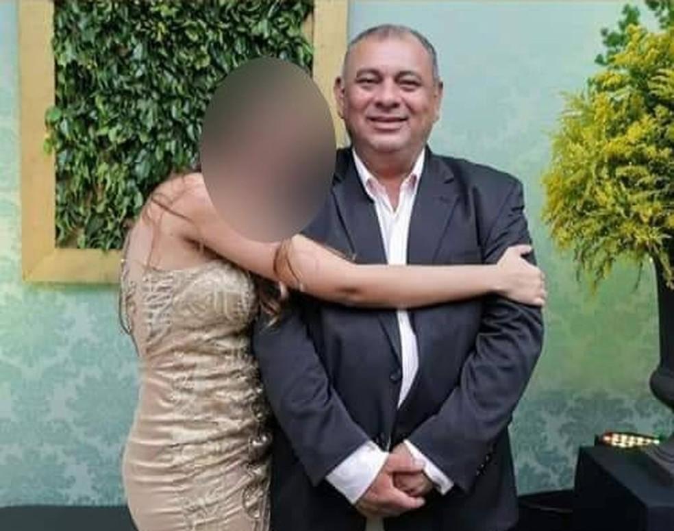 Luiz Nunes, de 54 anos, morreu de Covid-19 no dia 3 de março deste ano — Foto: Facebook-Reprodução