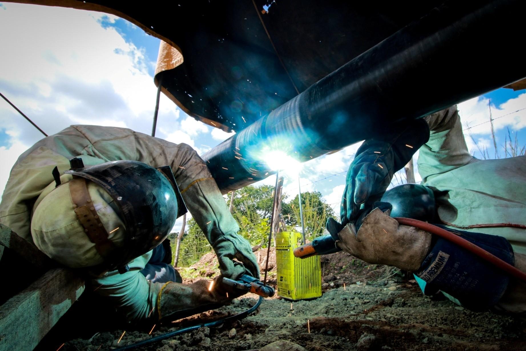 Obra da Algás na avenida Rotary, em Maceió, tem previsão para durar 90 dias