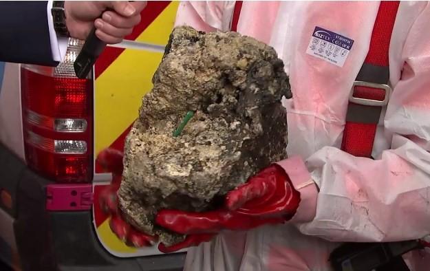 Vídeo: 'Iceberg' de gordura encontrado nos esgotos de Londres