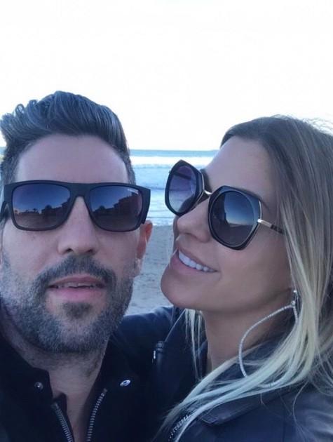 Antonella e o marido (Foto: Reprodução)