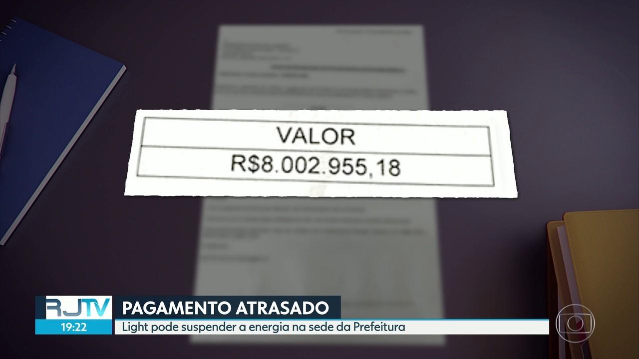 Prefeitura do Rio está com conta de luz atrasada e pode ficar sem energia na própria sede