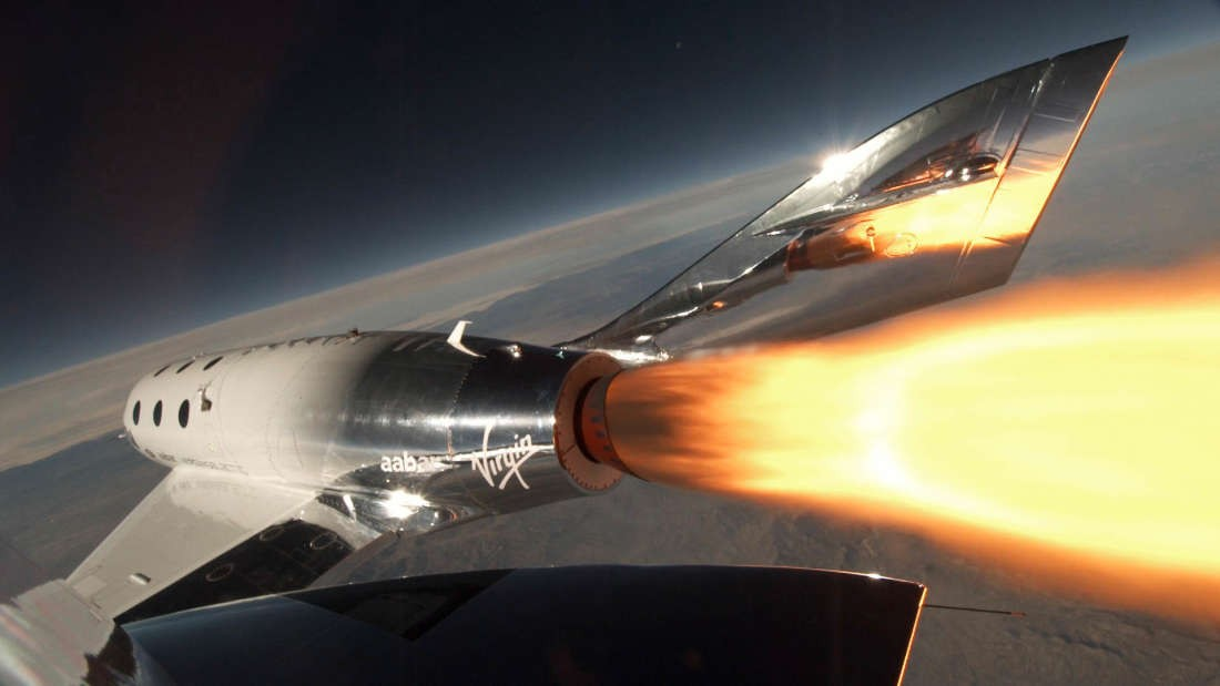 SpaceShipTwo, da Virgin Galactic (Foto: Virgin Galactic)
