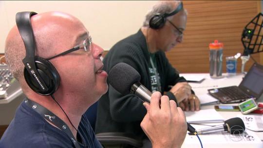 Profissionais da televisão participam da nova Rádio Globo