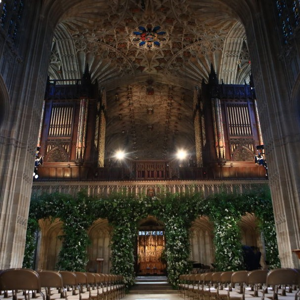 Detalhes da capela St. George (Foto: Getty Images)