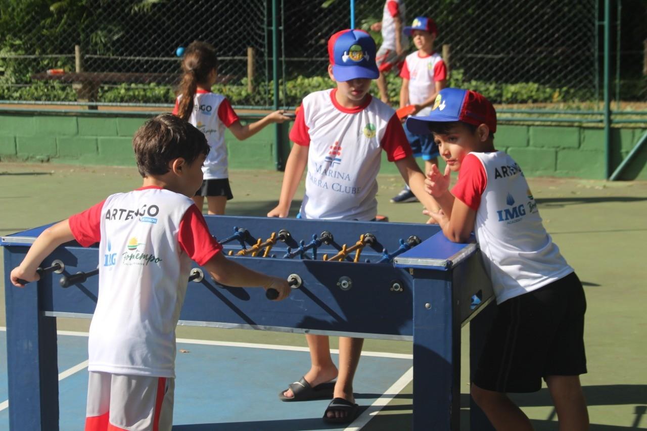 Crianças se divertiram com outras atividades