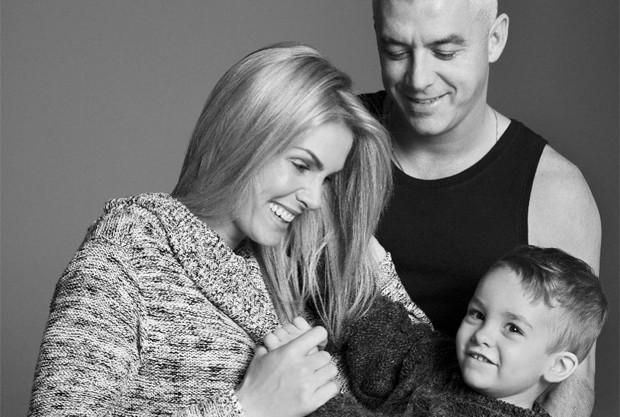 Ana Hickmann, Alexandre Correa e o pequeno Alexandre (Foto: Reprodução / Instagram)