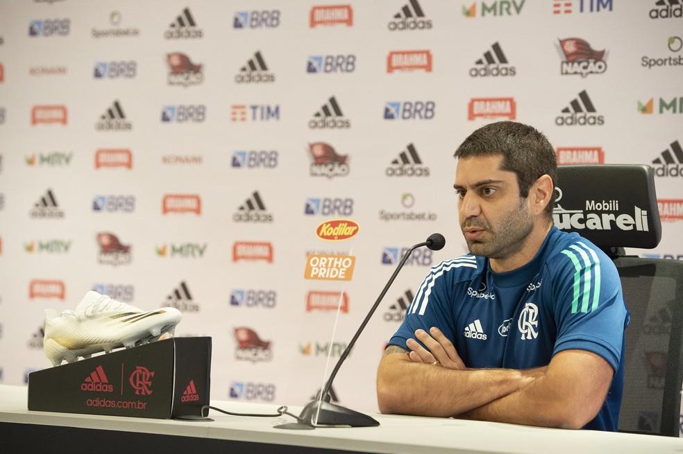 Flamengo inicia projeto de integração com médicos e preparadores físicos