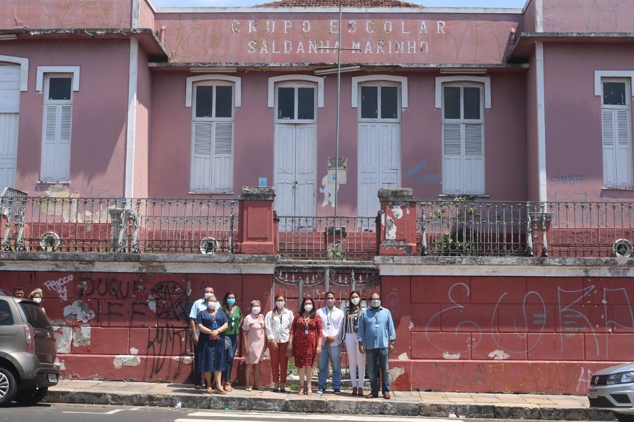 Hemoam ocupará prédio da antiga Escola Saldanha Marinho no centro histórico de Manaus