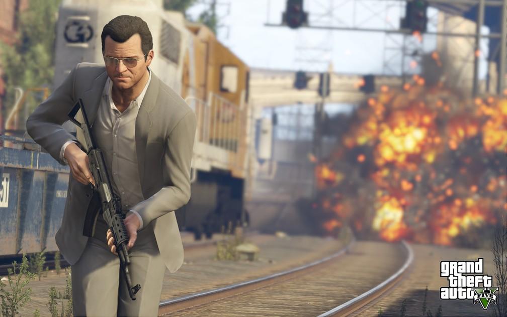 GTA V' fica disponível de graça na Epic Games Store e tráfego intenso tira  plataforma do ar | Games | G1