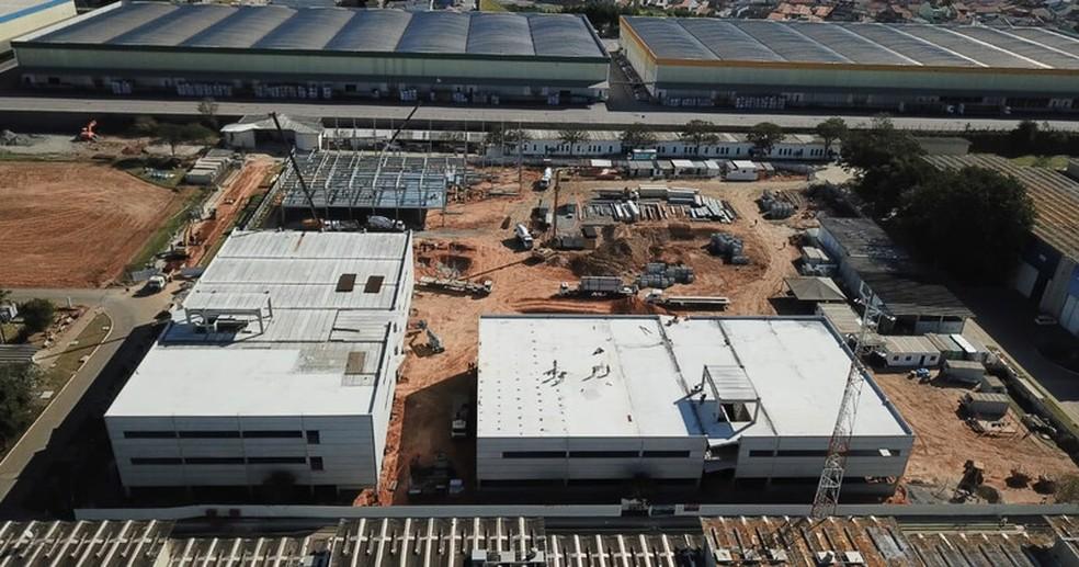 Se construyeron nuevos edificios en un terreno de 530,000 metros cuadrados en Eugênio de Melo - Foto: Embraer / Divulgação