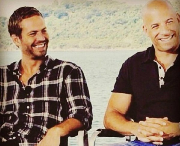 Paul Walker e Vin Diesel (Foto: Instagram)