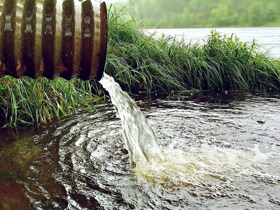 Produtos vão para o esgoto e podem acabar em rios e lagos — Foto: Pixabay/Divulgação