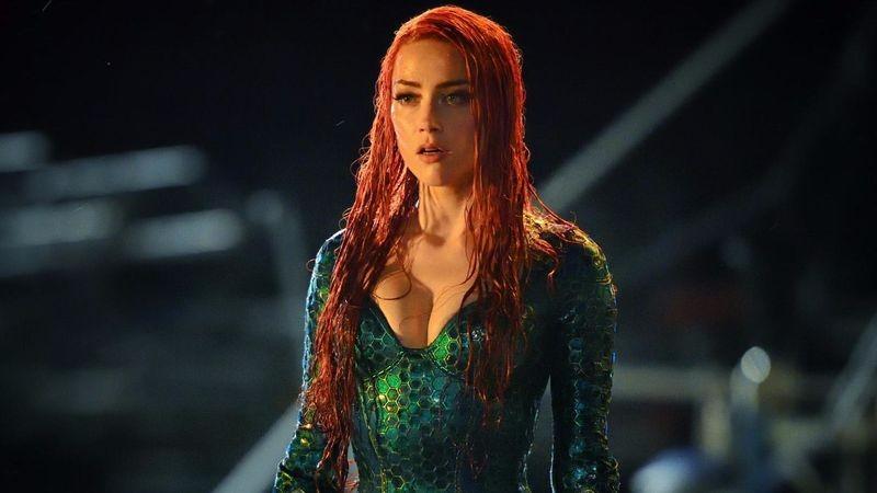 Amber Heard como Mera em Aquaman (Foto: Divulgação)