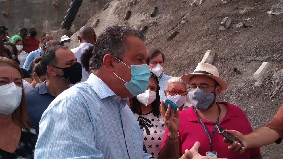 Rui Costa anuncia suspensão de transporte intermunicipal e proibição de festas no período junino — Foto: Rildo de Jesus/TV Bahia