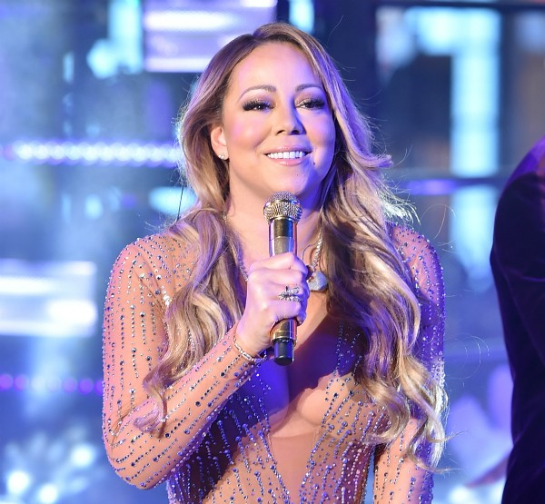 Mariah Carey em Times Square (Foto: Getty Images)