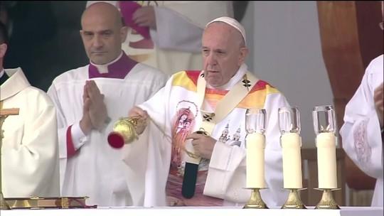 Papa pede para transformar rancor em oportunidade de união