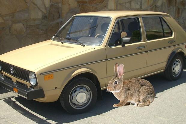 VW Rabbit não apareceu pelo Brasil... mas VW Coelho provavelmente não faria muito sucesso (Foto: Reprodução)