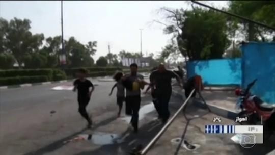 Grupo abre fogo em desfile militar no Irã e mata mais de 25 pessoas