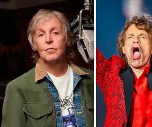 Mick Jagger rebate Paul McCartney, que chamou Rolling Stones de 'banda cover de blues'; assista ao vídeo