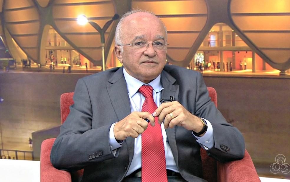 ex-governador José Melo (Foto: Reprodução/Rede Amazônica)