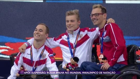 De volta aos grandes eventos, Rússia passa por controle rígido e brilha com medalhas na natação