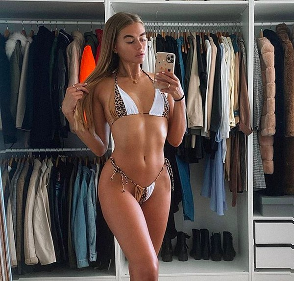 A modelo Arabella Chi (Foto: Instagram)
