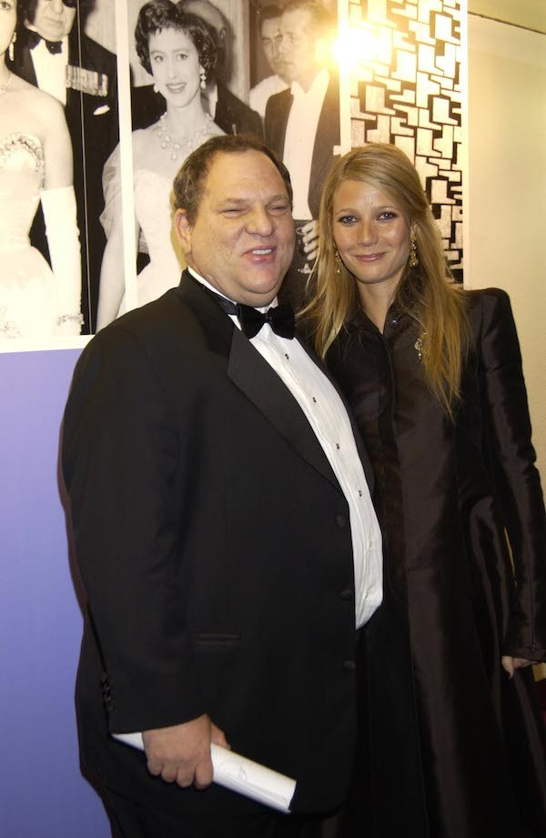 A atriz Gwyneth Paltrow e o produtor Harvey Weinstein (Foto: Getty Images)