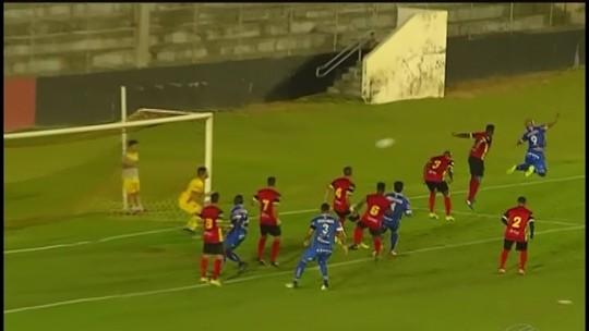Juninho explica gol sofrido e não afasta culpa por queda da URT na Série D
