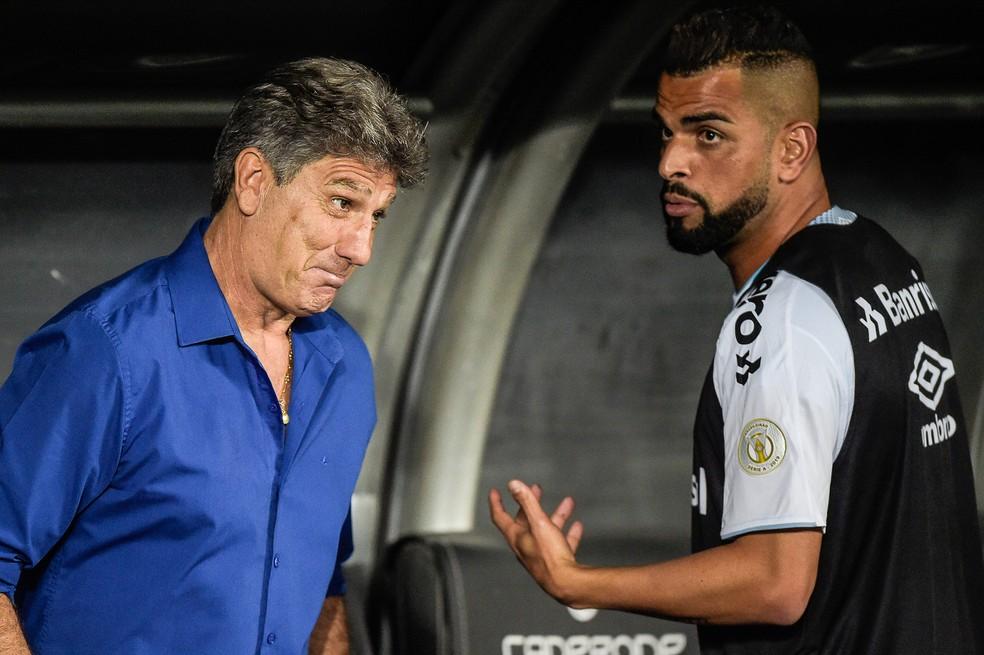 Renato espera conversa com Maicon para decidir sobre cirurgia — Foto: Alexandre Loureiro/BP Filmes