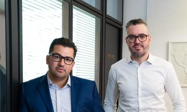 Wagner Vieira e Leone Cabral, sócios-fundadores da Blue3