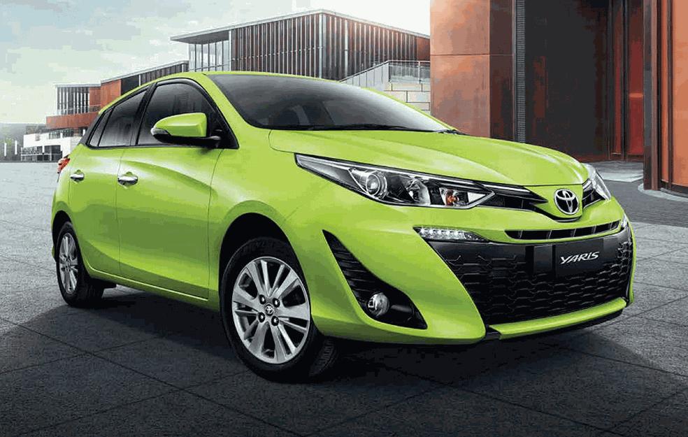 Toyota Yaris que será feito no Brasil (Foto: Divulgação)
