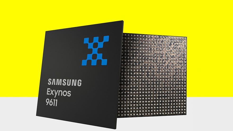 Galaxy M31 traz mais memória RAM e chip Exynos 9611 mais potente — Foto: Divulgação/Samsung