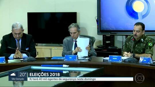 RJ espera 12 milhões de eleitores nas urnas para escolher governador, deputados e senadores