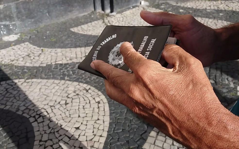 RJ registra o menor número de trabalhadores com carteira assinada desde 2012 (Foto: Daniel Silveira/G1)