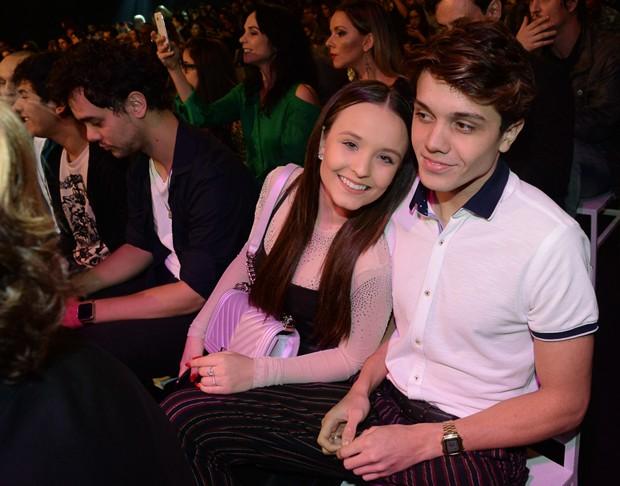 Larissa Manoela e Léo Cidade (Foto: Francisco Cepeda/AgNews)