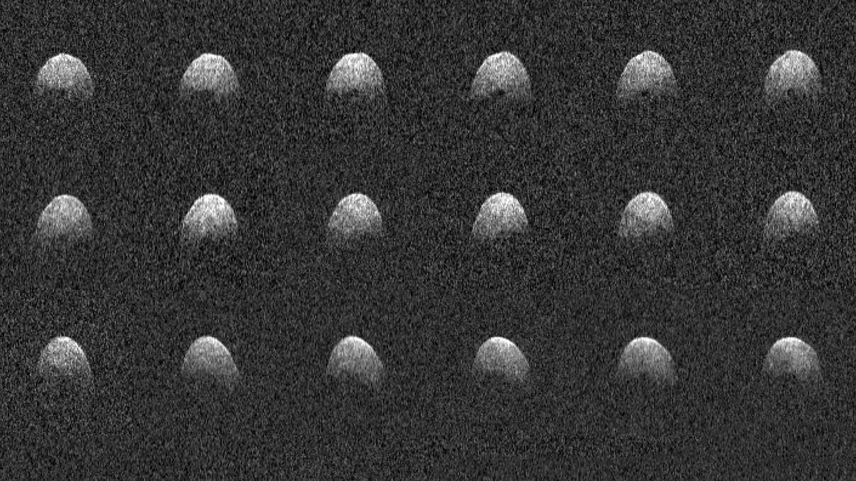 Afetado por furacão, radar da Nasa é reativado e faz imagens de asteroide que passou perto da Terra