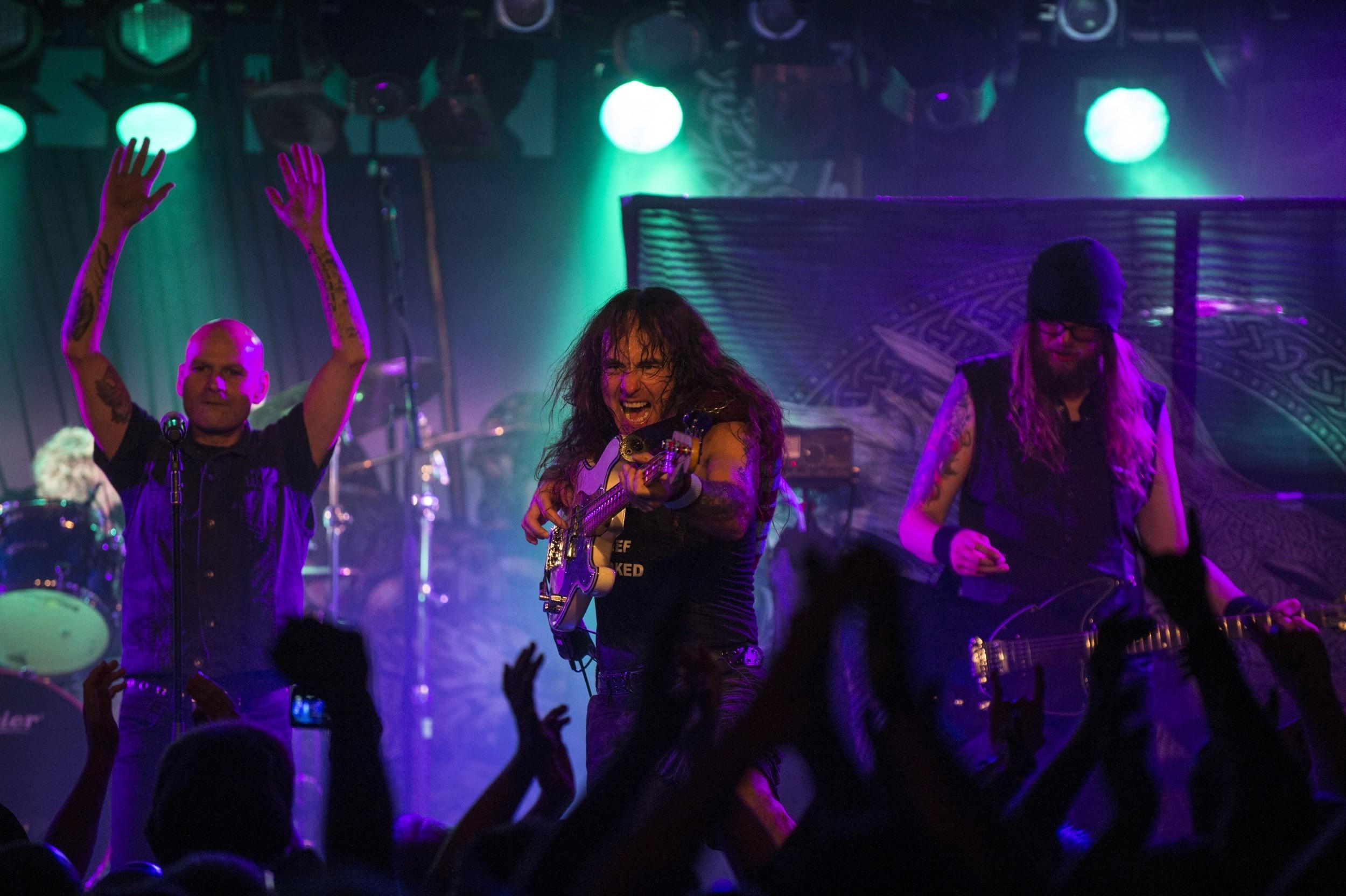 O projeto British Lion, do baixista Steve Harris, do Iron Maiden