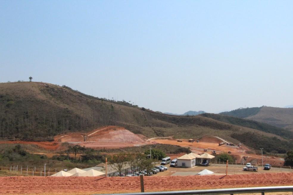 Reassentamento dos atingidos de Paracatu de Baixo, nesta quarta-feira (15). — Foto: Cáritas