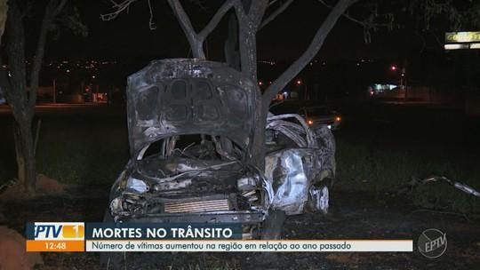 Santa Bárbara d'Oeste lidera aumento percentual de mortes no trânsito no início do ano na região
