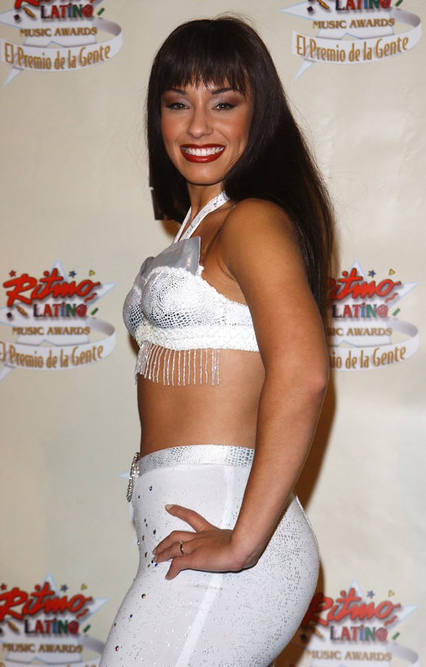 A cantora Selena (1971-1995) (Foto: Getty Images)