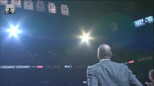 Manu Ginóbili tem camisa aposentada pelos Spurs e é o destaque da semana na NBA
