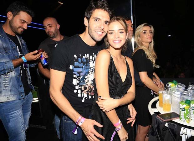 Kaká e a namorada, Carol Dias (Foto: Claudio Augusto/Brazil News)